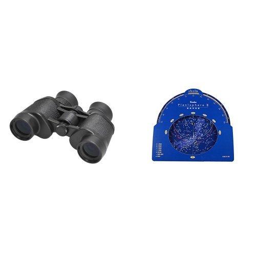 Kenko 双眼鏡 プロフィールド 7X32 + Kenko 天体望遠鏡アクセサリー 星座早見盤 PlanisphereIIセット