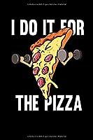 Notizbuch: Fitness Pizza Sport Fast Food Diaet Lustig Geschenk 120 Seiten, 6X9 (Ca. A5),Blanko / Skizzen