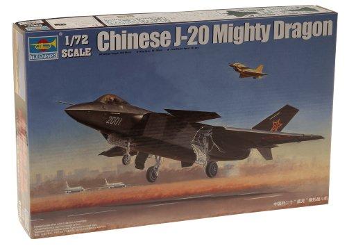 トランペッター 1/72 中国空軍 J-20 戦闘機 プラモデル