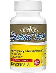 妊婦用 PreNatal DHA 出生前DHA30ソフトジェル (パラレル入力品)と妊婦(海外カラの直送品)PreNatal DHA 30 Softgels
