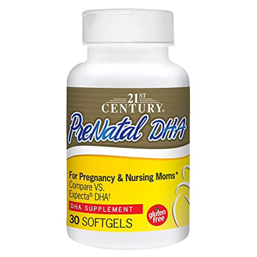 性別アダルト幸運妊婦用 PreNatal DHA 出生前DHA30ソフトジェル (パラレル入力品)と妊婦(海外カラの直送品)PreNatal DHA 30 Softgels