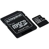 キングストン Kingston microSDHCカード 16GB クラス 10 UHS-I 対応 アダプタ付 Canvas Select SDCS/16GB 永久保証