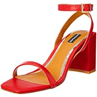 Jaggar Women's Squared Court Shoes, Red