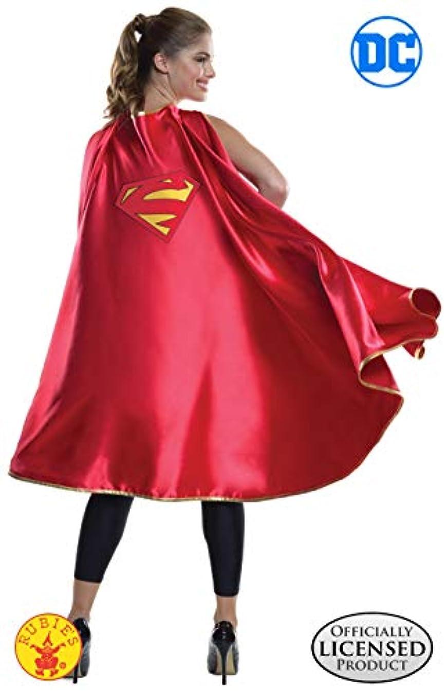 忠誠形式糸スーパーマン デラックス ケープ 着丈120cm コスチューム 男女共用