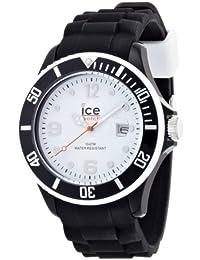 [アイスウォッチ]ICE-WATCH アイスホワイトコレクション ビッグ ブラックホワイト SIBWBS  【正規輸入品】