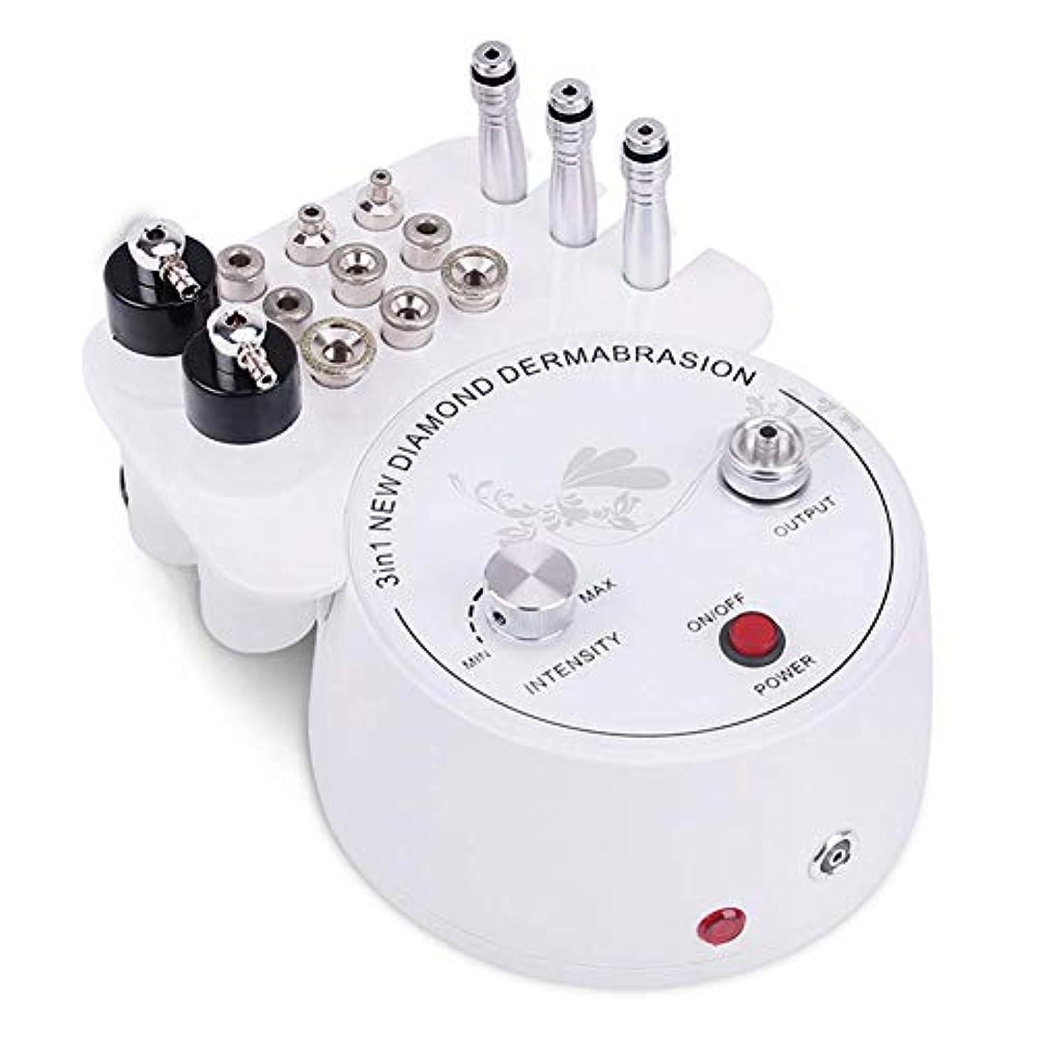 鉛筆タイマーパブ3 in 1 ダイヤモンドマイクロダーマブレーションダーマブレーションマシン、 プロ 皮膚剥離 ダイアモンドビューティーマシン、スキンピーリングリジュビネーションリフティングタイトニング