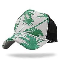 WHITE FANG(ホワイトファング) 帽子 メッシュ キャップ ロゴ マリン サーファー 海 スポーツ メンズ レディース CA220 (03:グリーン)