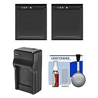 Essentialsバンドルfor Kodak Pixpro sp360sp3604K、& orbit3604Kカメラアクションカメラwith (2) lb-080電池+充電器+クリーニングキット