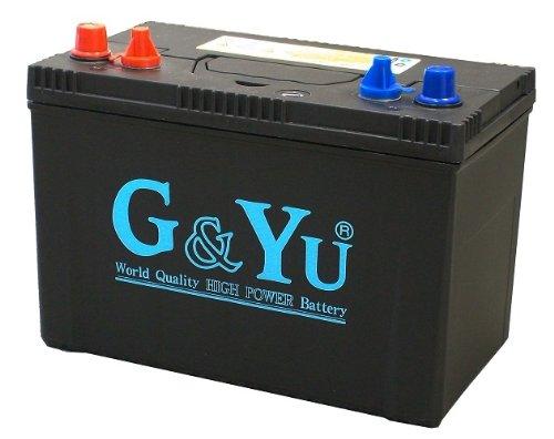 G&Yu [ ジーアンドユー ]  国産車バッテリー [ キャンピング・マリンレジャー ] SMF 27MS-730