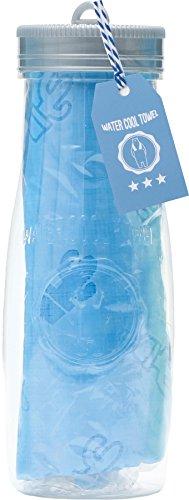 ウォータークールタオルB4(シロクマ柄 ブルー) 178-8430B4BL