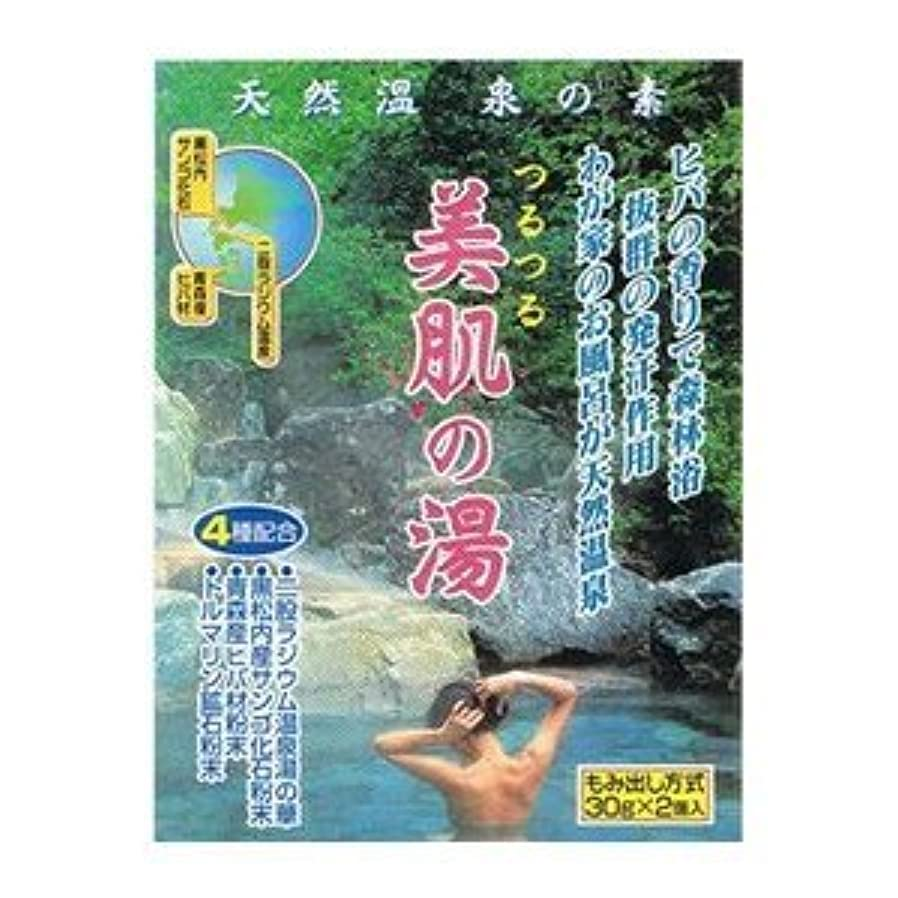 油望ましい評価する天然温泉の素 美肌の湯 (30g×2個入)×12袋セット