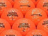 【ABランク】【ロゴなし】SUPER NEWING(スーパーニューイング) 2011年モデル スーパーオレンジ 20個セット 【ロストボール】