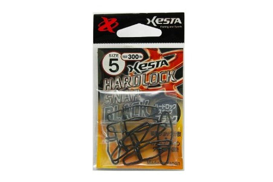カップ重要性浮くゼスタ(XESTA) ハードロックスナップ ブラック #5