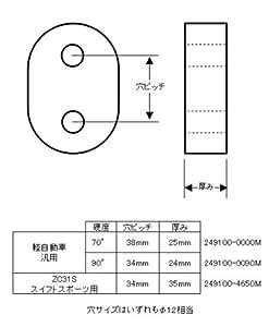 monster SPORT エキゾーストパイプマウント マフラーハンガー 5個セット 249550-0090M スズキ