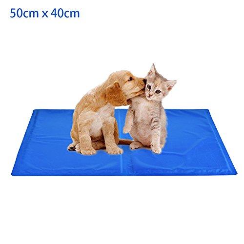 ペット用クールマット FDLH 猫ひんやり ペット冷却マット 多用途マット 夏 熱中症 暑さ対策 噛む防止