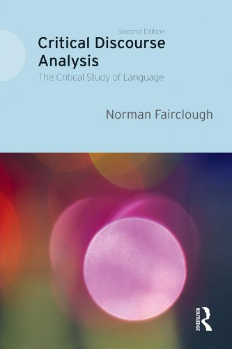 Critical discourse analysis the critical study of language ebook critical discourse analysis the critical study of language by fairclough norman fandeluxe