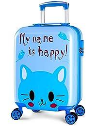Grade UP キャリーケース 子供 スーツケース かわいい 静音キャスター 四輪 軽量 ABS素材 ロック搭載 機内持込み アルミフレーム 旅行 小型 SSサイズ 2泊 動物柄