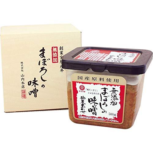 山内本店 無添加まぼろしの味噌米麦あわせ 4862 【食品 粗品 味噌 米みそ 調味料 料理 キッチン 味噌汁】