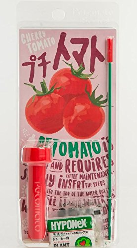 ペットボトルで野菜やハーブができる新感覚栽培キット ペットマトステッチ (プチトマト)