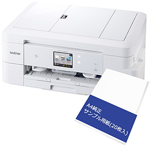 【Amazon.co.jp限定】 brother 大容量インクモデル DCP-J983N+A4PA (A4用紙セット)