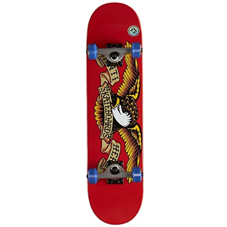 【ANTI HERO】アンタイヒーロー CLASSIC EAGLE MINI Red/Blue Wheel 7.38インチ スケートボード キッズ ジュニア コンプリートデッキ スケボー 板 アンチヒーロー