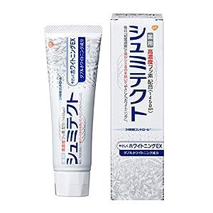 [医薬部外品]薬用シュミテクト やさしくホワイトニングEX 高濃度フッ素配合 <1450ppm> 知覚過敏予防 歯磨き粉 90g