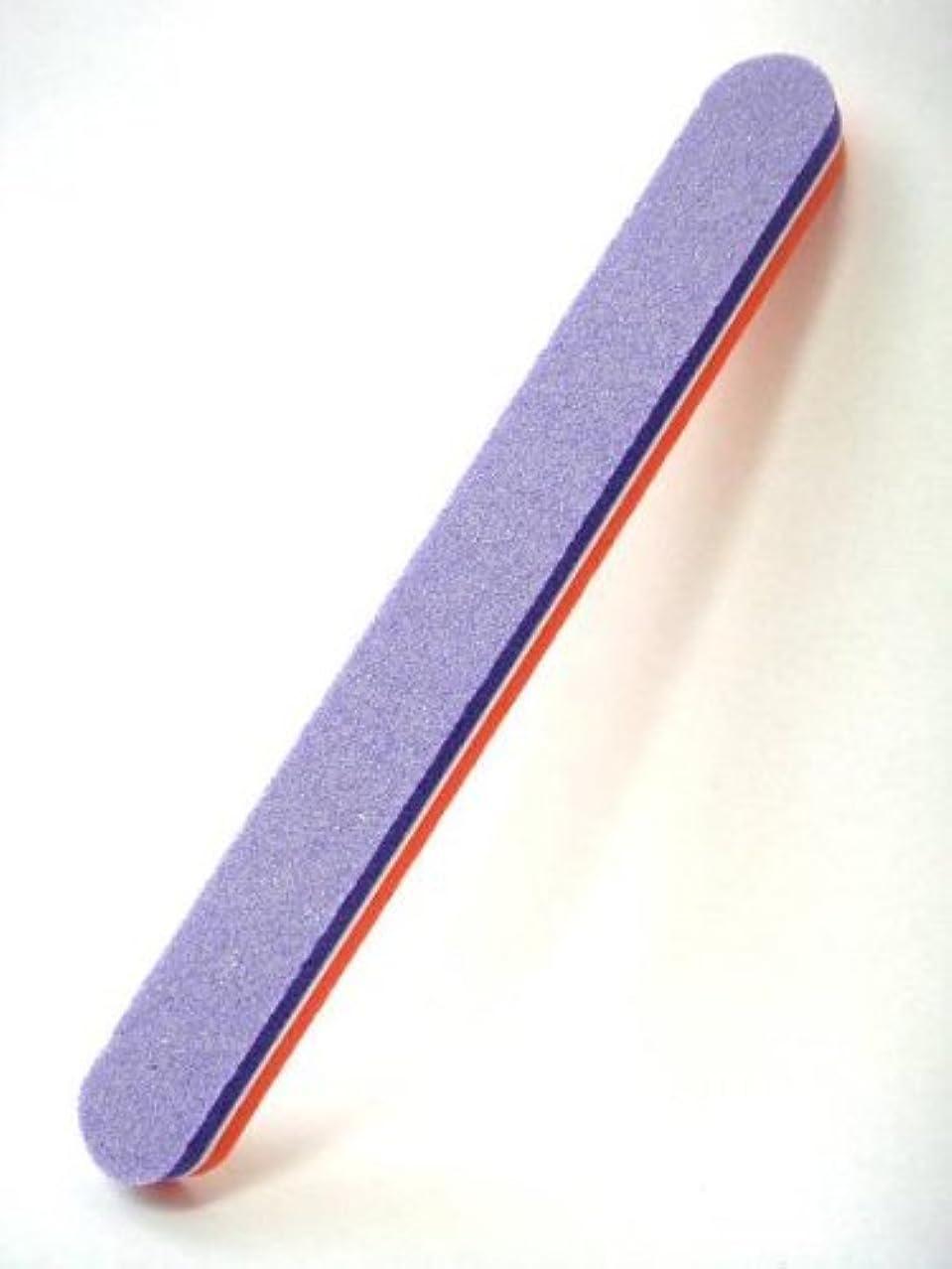 ペデスタルコース受け取るネイル スポンジバッファ ストレート型100/180G