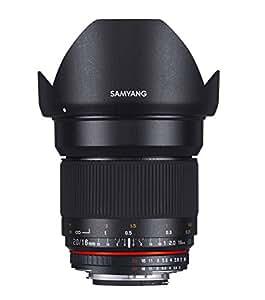 SAMYANG 単焦点広角レンズ 16mm F2.0 フジフイルム X用 APS-C用