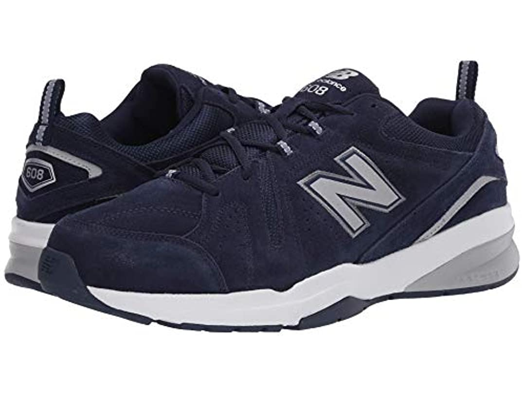 有彩色の提案する再集計[ニューバランス] メンズトレーニング?競技用シューズ?靴 608v5 Pigment/Gunmetal/Silver Metallic 9 (27cm) EE - Wide [並行輸入品]