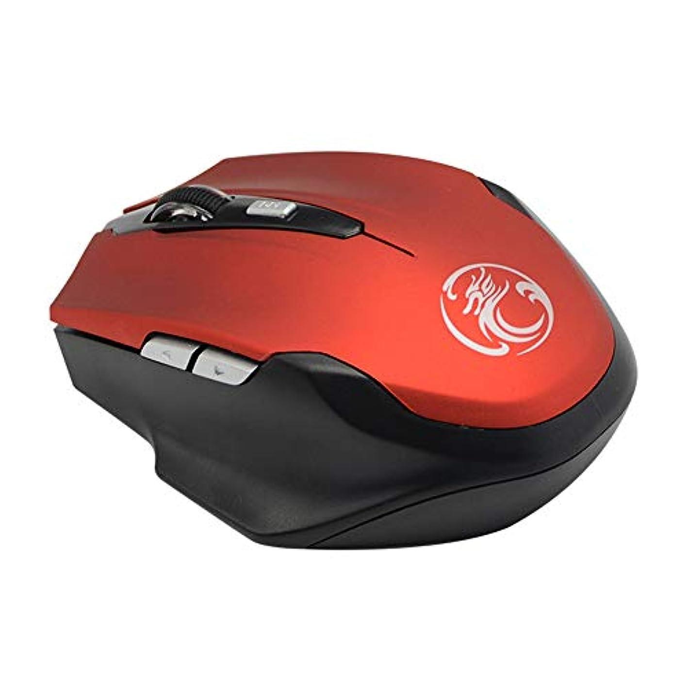 欠点スロースイ?Tospils マウス -ワイヤレスマウス、1600DPI 2.4 ghz 6Buttons ワイヤレス光学ゲーミングマウスゲームマウス互換性ノートブック、PC、ノートパソコン、コンピュータ