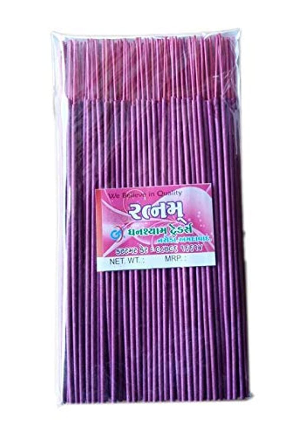 鉱石情報マークされたDivyam Ratnam Incense Stick/Agarbatti -Pink (500 GM. Pack)