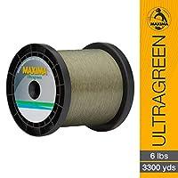 (6-pound/3300-yard) - Maxima Ultragreen Service Spool