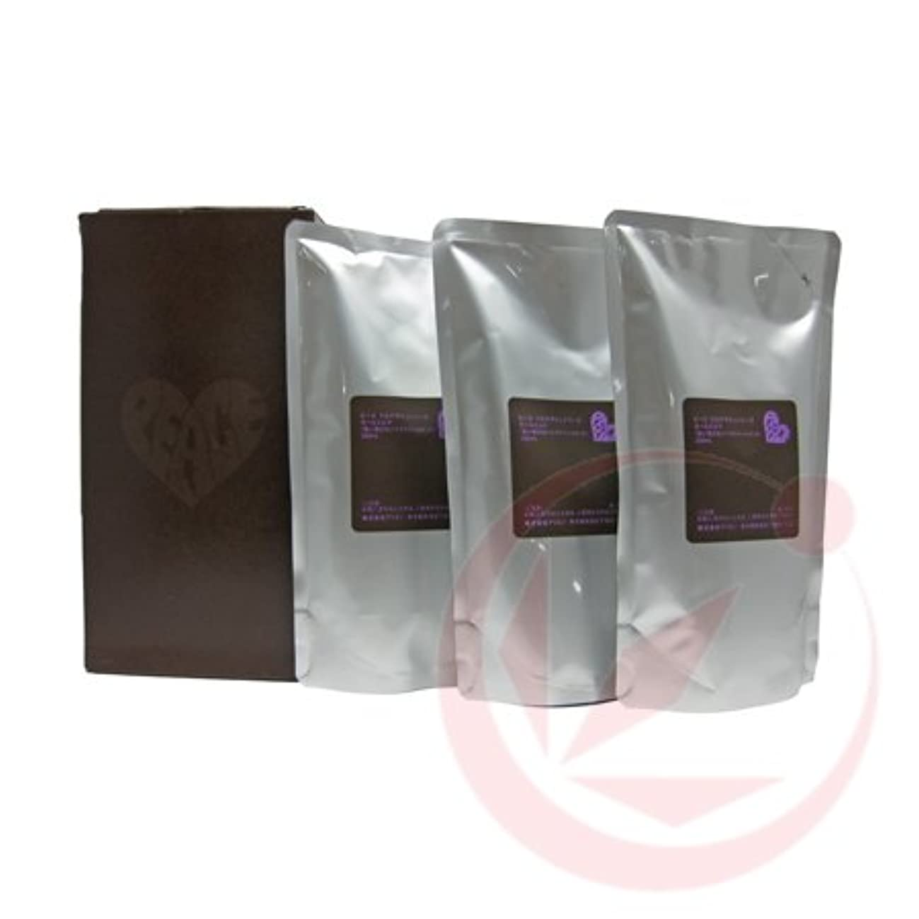 教育快適追加アリミノ ピース カールmilk ミルク(チョコ) 200ml(業務?詰替用)×3個入り