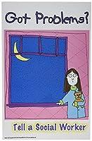 Poster #220 Social Worker Mental Health Student Teen Children's Posters Series [並行輸入品]