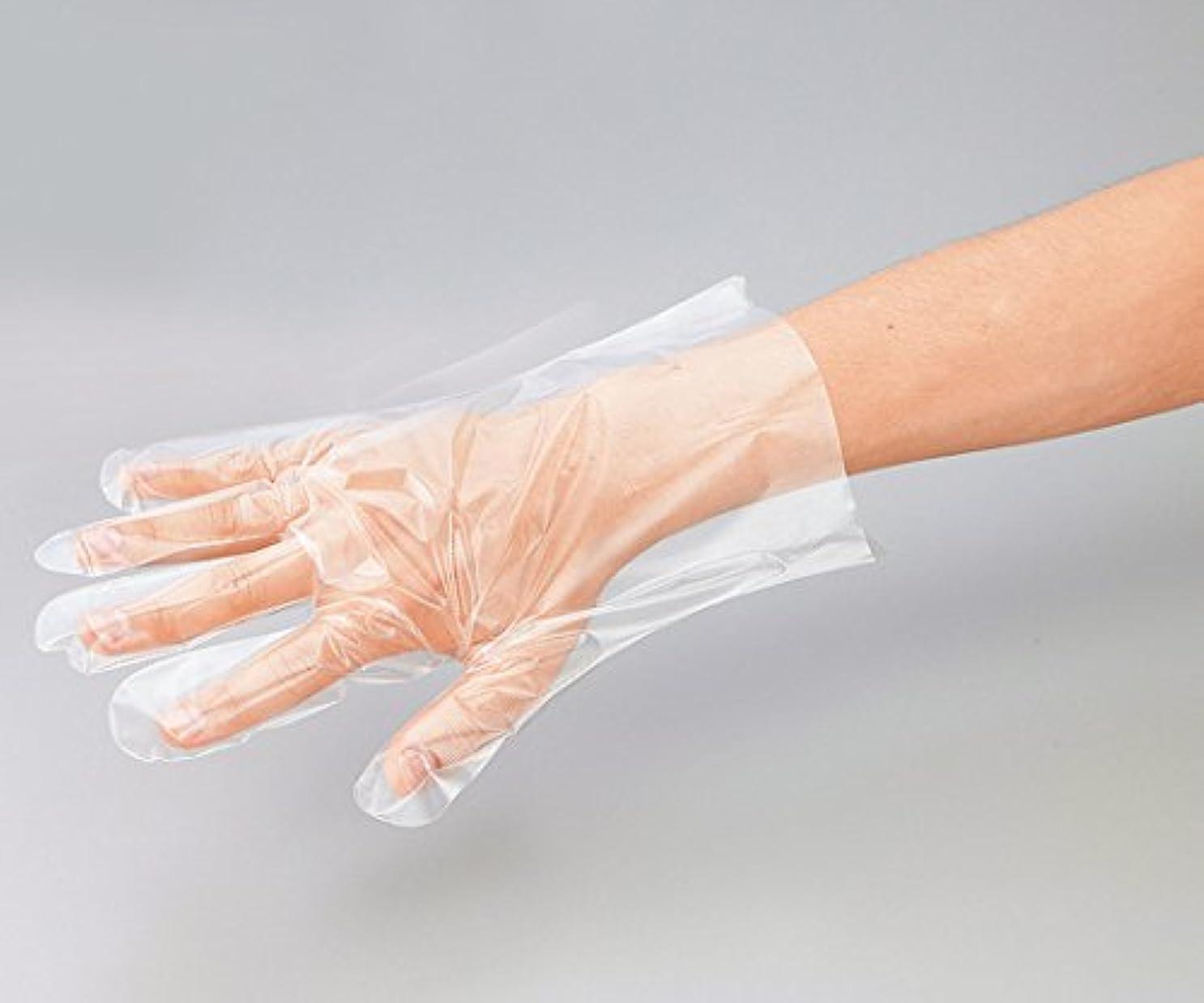 思い出カジュアルヘアプロシェア ポリエチレン手袋 エンボス無 L /8-2587-01