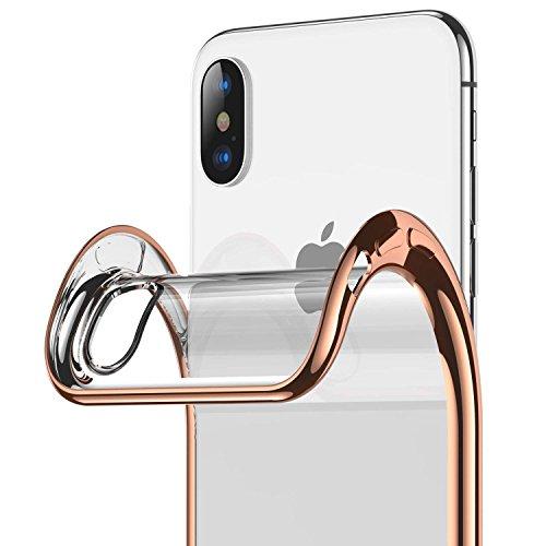 ORANGA iPhoneX ケース 透明 iPhoneXs...