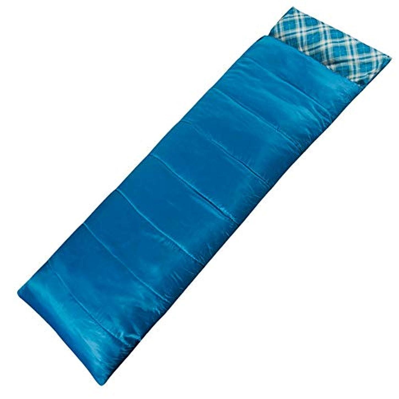 反逆北東散歩YBJPshop 寝袋 単一の寝袋のキャンプの暖かい中空綿の二重層は接合することができます 寝袋の裏地、キャンプ、登山旅行 (Color : B)