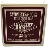 INSTITUT KARITE 25% ジェントルソープ 100g バニラ バーボン Vanilla Bourbon Extra Gentle Soap インスティテュート?カリテ
