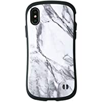 iFace First Class Marble iPhone XS/X ケース [ホワイト]