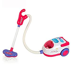 Cido おもちゃ掃除機 おもちゃをクリーンアップ プレイハウスキーピングをふりかける リアルサクション 掃除機 子供のために3歳以上 少女にぴったり