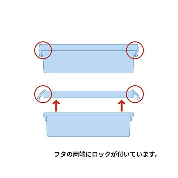 天馬(Tenma) ディスク収納ボックス クリ...の紹介画像5