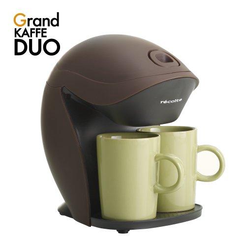 レコルト コーヒーメーカー グランカフェデュオ ブラウン GKD-1BR
