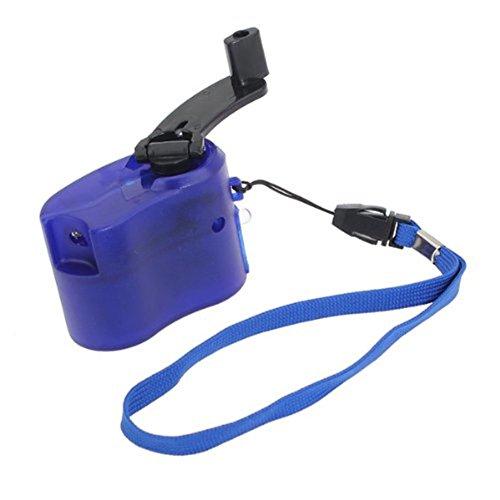 B-PING 手動で充電器 手回し充電可能 USB充電対応 ...