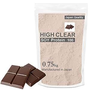 HIGH CLEAR(ハイクリアー)ソイプロテイン100 リッチチョコ味 750g 30食分