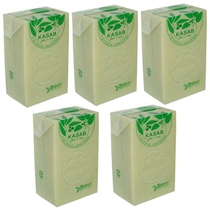 落ち着いた毒サロンカサブ石鹸5個セット