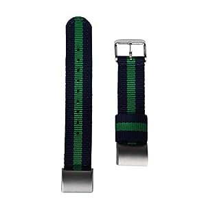 Egeek Fitbit Charge 2高級ナイロン編み取り替えベルト Fitbit Charge 2リストバンド 交換ベルト 男女適用 (E)