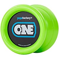 YoYoFactory ONE Ball Bearing Professional Trick YoYo - Green [Floral] [並行輸入品]