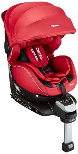 Recaro レカロ ゼロワン セレクト コーラルレッド RC6305.21546.07 新生児~4才頃までの360°回転式チャイルドシート ISOFIX取付 ASP + 大型サンシェード付きのフル装備モデル