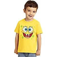 Animation Shops Spongebob Face Toddler T-Shirt