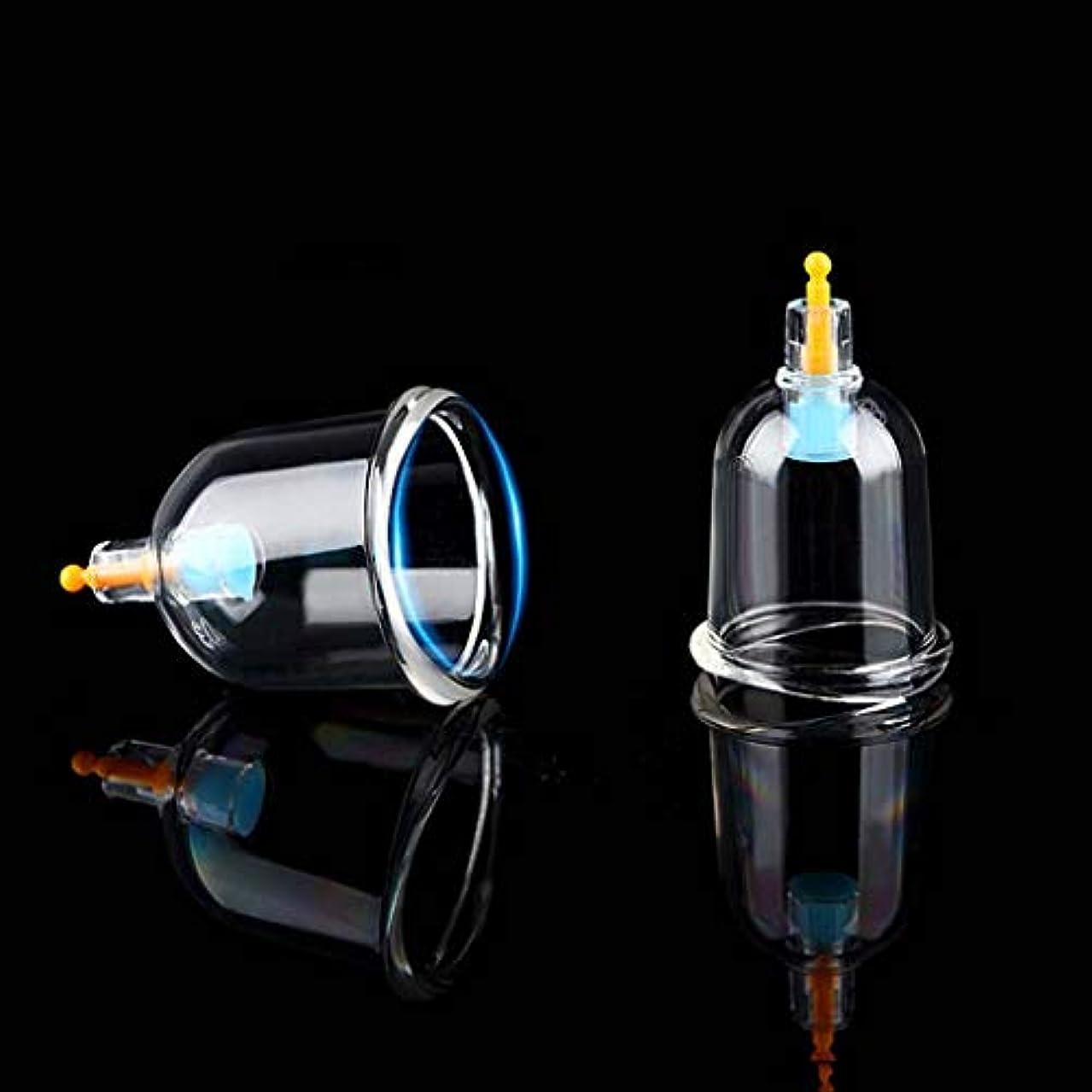 弱点テクスチャー援助セットカッピング、プロフェッショナル中国のツボカッピングセラピーは真空ポンプ磁気セルライトカッピングマッサージキット-12カップで吸引カッピングセットを設定します。